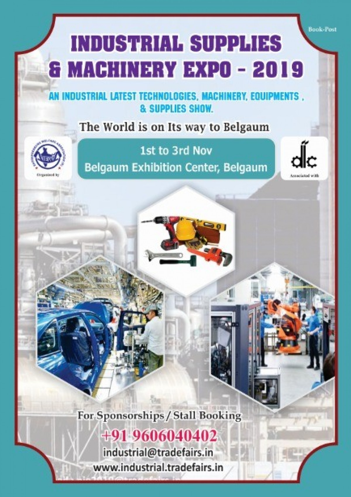 Industrial Supplies & Machinery Expo - 2019 @ Belgaum Exhibition Center