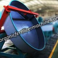 Organic Fertilizer Making Machine - Disc Pan Granulator