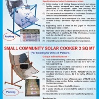 Fast cooking attractive solar cookers by tinytechindia