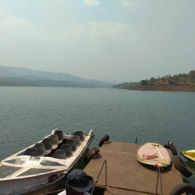 Boating at Panshet Dam