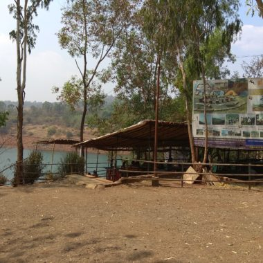 Small Hotel near Panshet Dam boating
