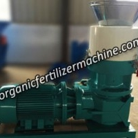 Flat Die Pellet Mill for Making Organic Fertilizer KP-40