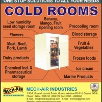 Design, manufacture, supply, erection, testing and commissioning of Cold storage