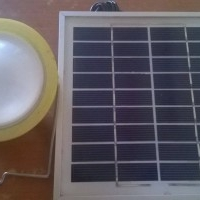 4W Solar lamp available for sale
