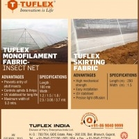 TUFLEX INDIA, FORMALLY NETLON INDIA, DIVISION OF PARRY ENTERPRISES INDIA LIMITED