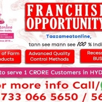 Become a franchise of taazameatonline in hyderabad